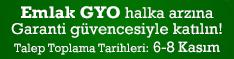 Emlak GYO halka arzı Garanti'de!