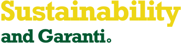 Sustainability and Garanti