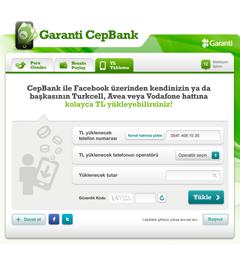 CepBank Facebook Uygulaması
