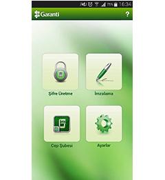 Garanti Cep Şifrematik Android Uygulaması