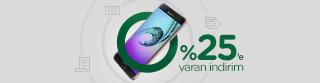 Garanti İnternet ve Cep'i kullananlara Samsung Akıllı Cihazlarda %25'e varan indirim!
