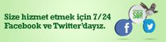Facebook ve Twitter'dan GarantiyeSor!
