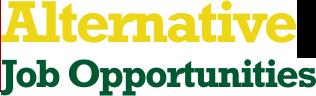 Alternative Job Opportunities
