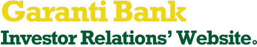 Garanti Bank Investor Relations' Website