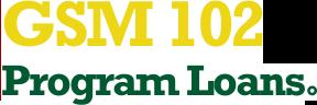 GSM 102 Program Loans