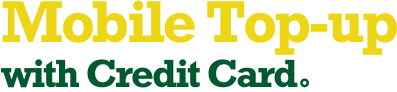 Mobile Top-Up with Credit Card