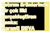 Yatırım ürünlerinde bir çok ilki gerçekleştiren banka: Garanti!