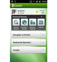 Garanti Cep Android Uygulaması